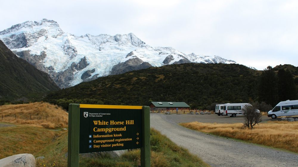 Campground in Mt Cook