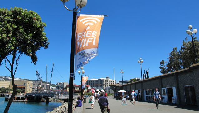 Free WiFi In Wellington