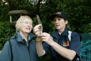 Visitors - species talk at Zealandia © Zealandia