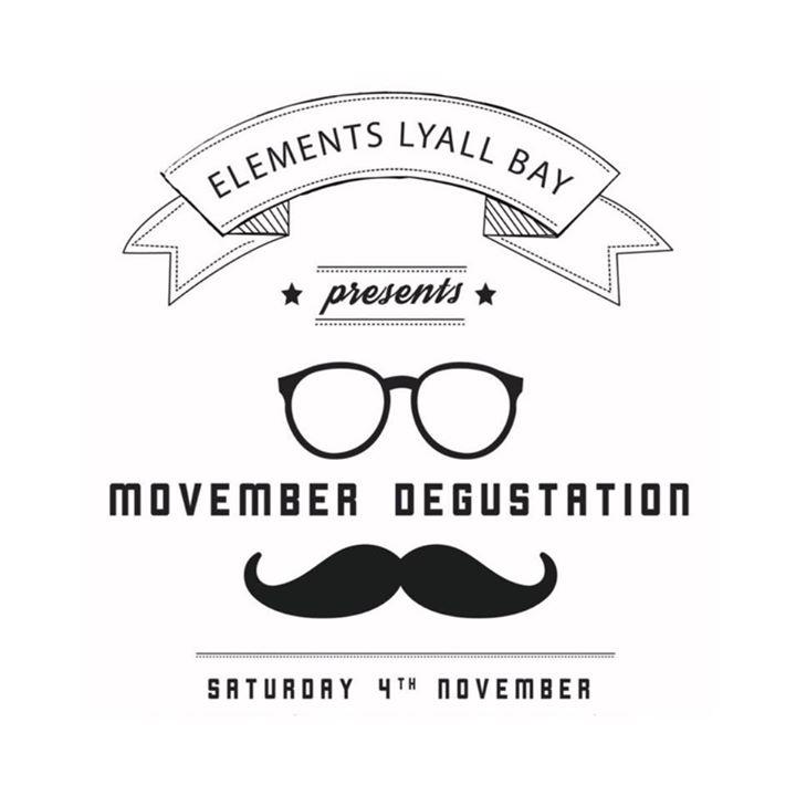 Elements Lyall Bay - Movember Degustation