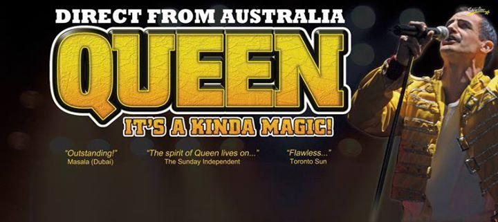 Queen It's A Kinda Magic / New Zealand 2017