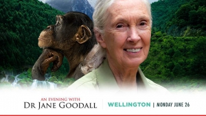 An Evening with Dr Jane Goodall