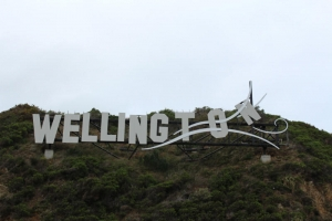 Wellington Sign, Miramar