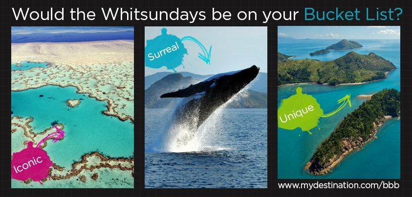 Is the Whitsundays on your bucket list?