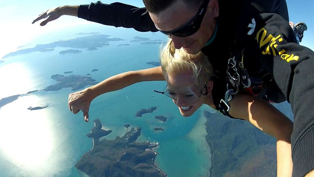 Skydiving in the Whitsundays