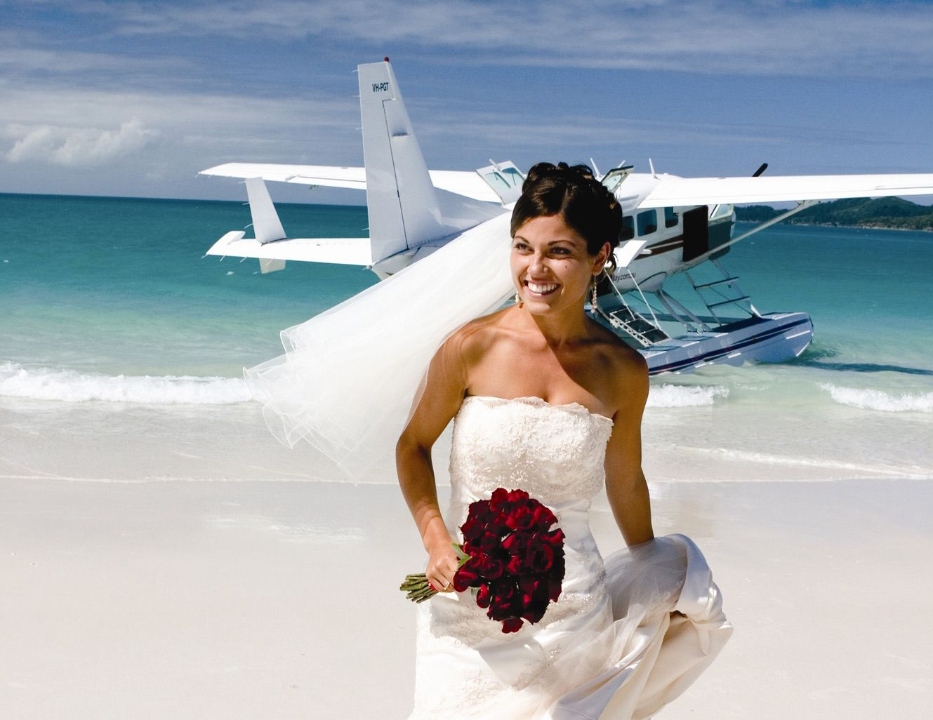 Seaplane Wedding