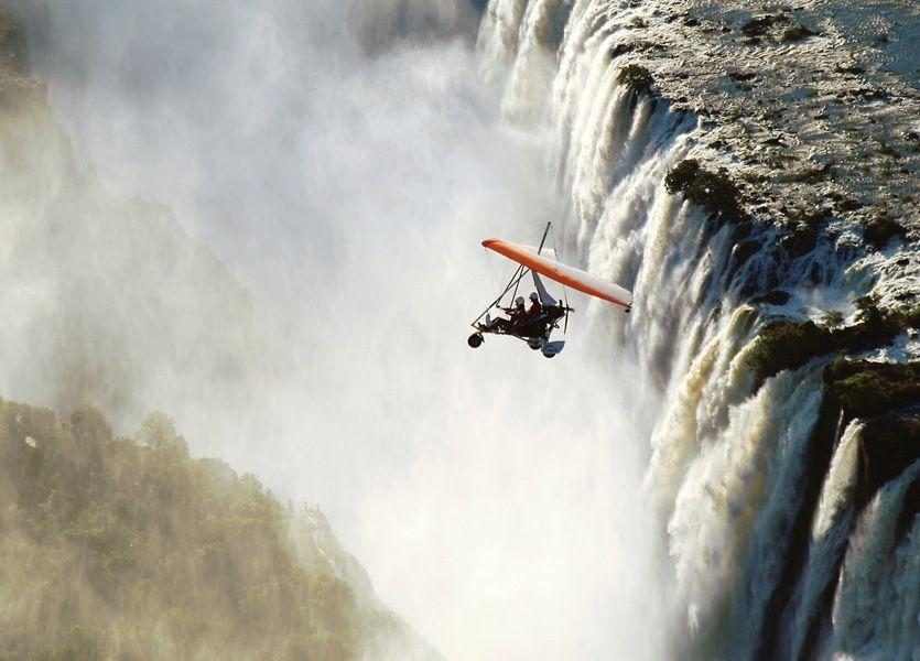 Micro Light Victoria Falls