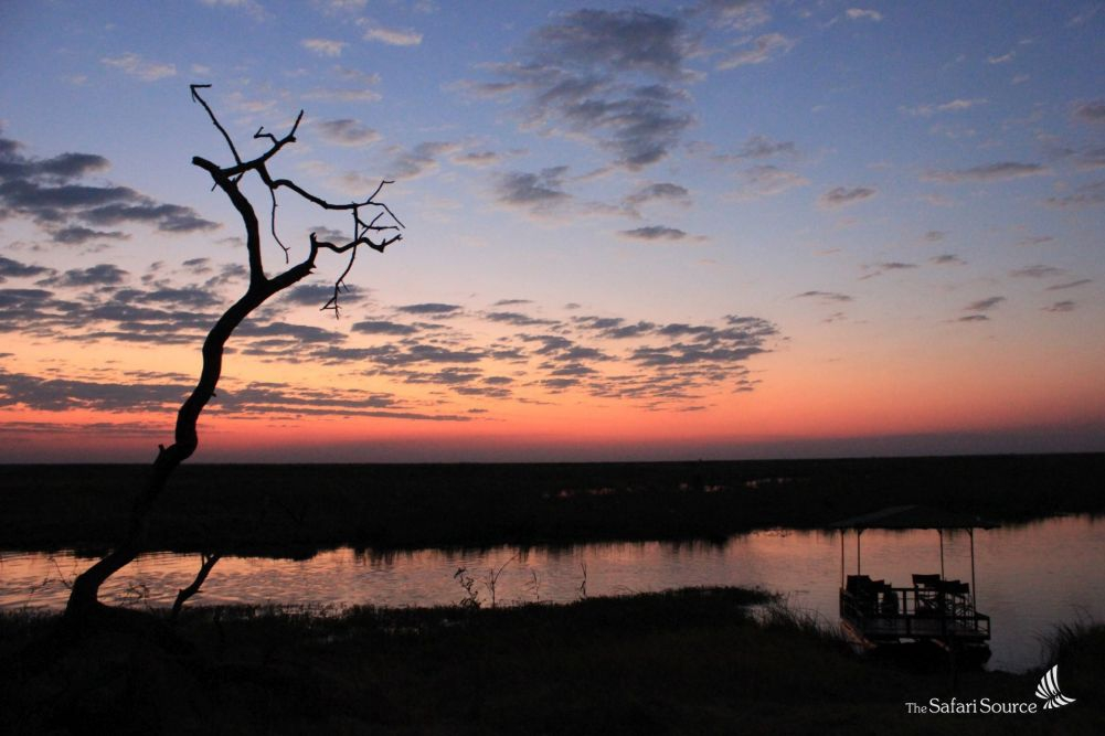Magnifixent African Sunset Overlooking The Linyati Marsh ,Botswana