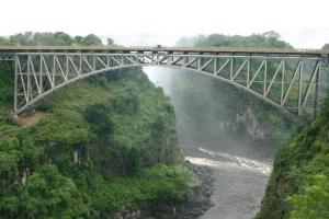 Bungi Jump off the Vic Falls Bridge