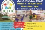 April Holiday Club