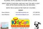 Kidzcan -Golf Tournament