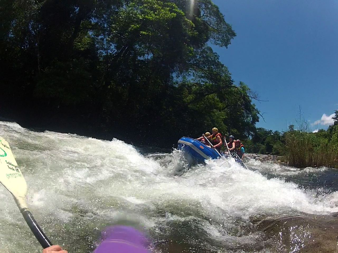 Aberfoyle Lodge And Far And Wide - White Water Rafting
