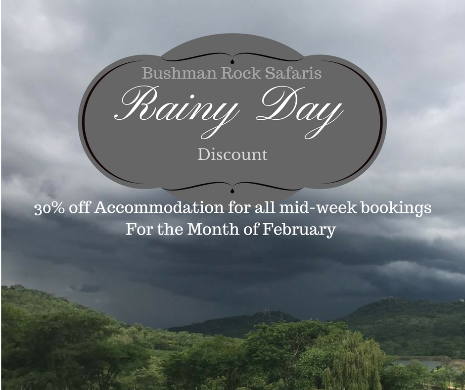 Bushman Rock Rainy Day Discount
