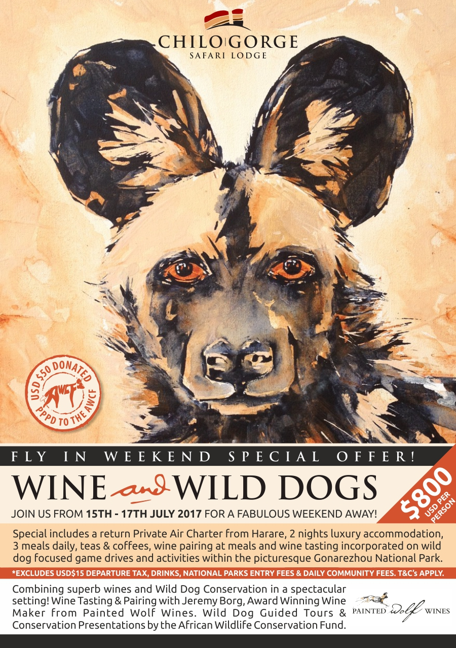 Chilo Gorge : Wine & Wild Dog Fly In Weekend Special