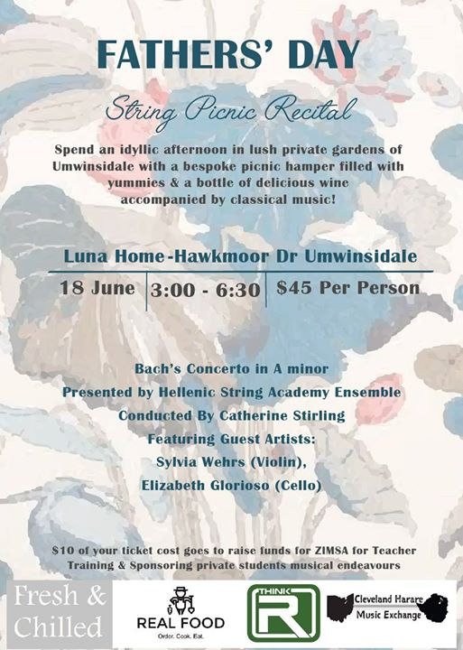 Father's Day String Picnic Recital