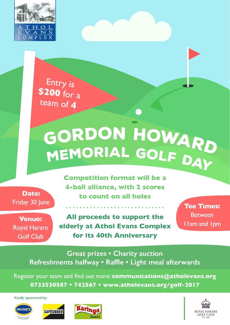 Gordon Howard Memorial Golf Day
