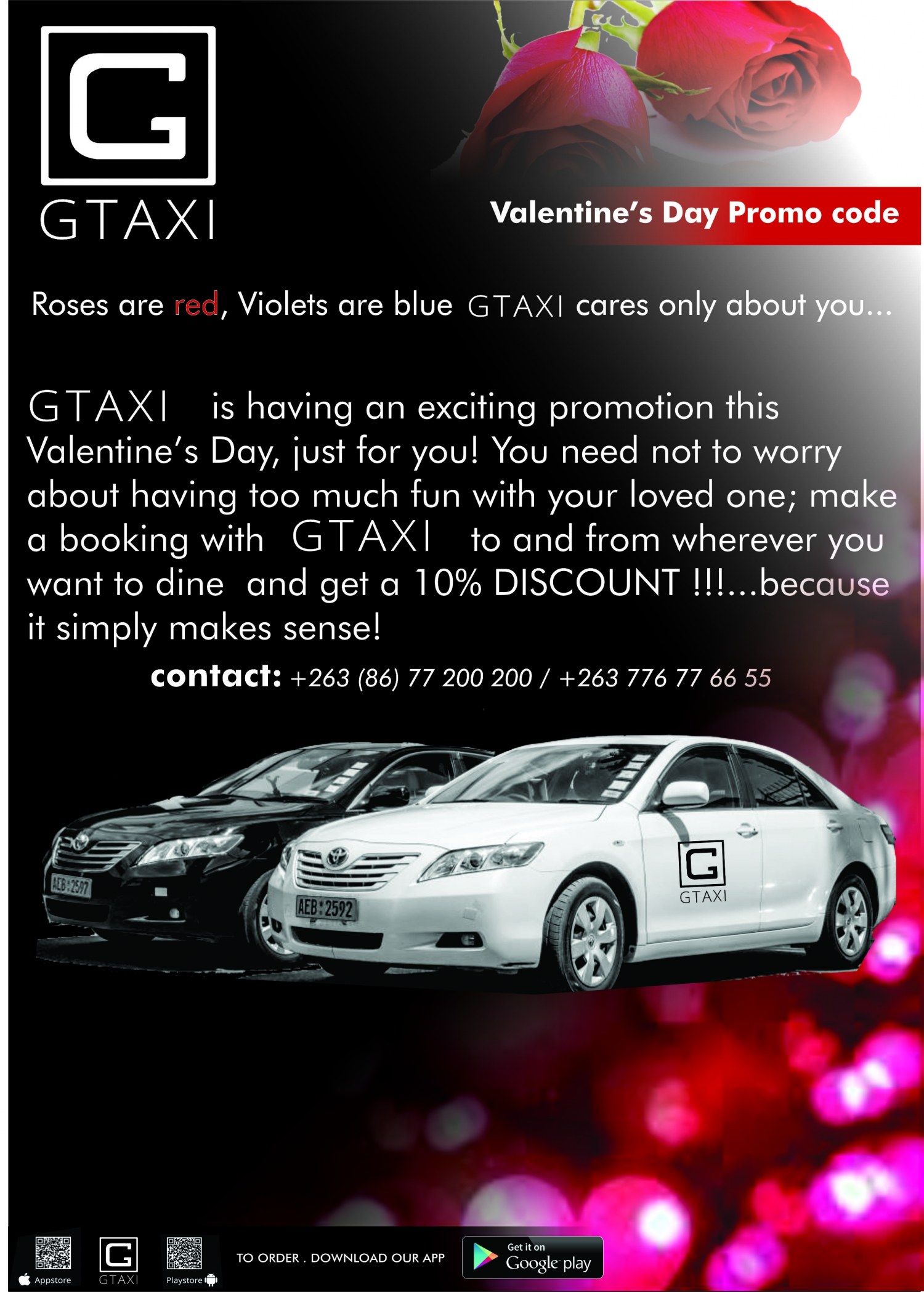 GTaxi Valentines Day Promo