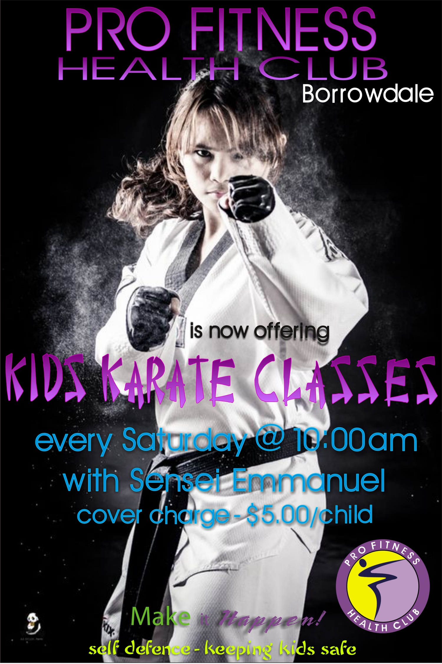 Kids Events At Pro Fitness Health Club Borrowdale