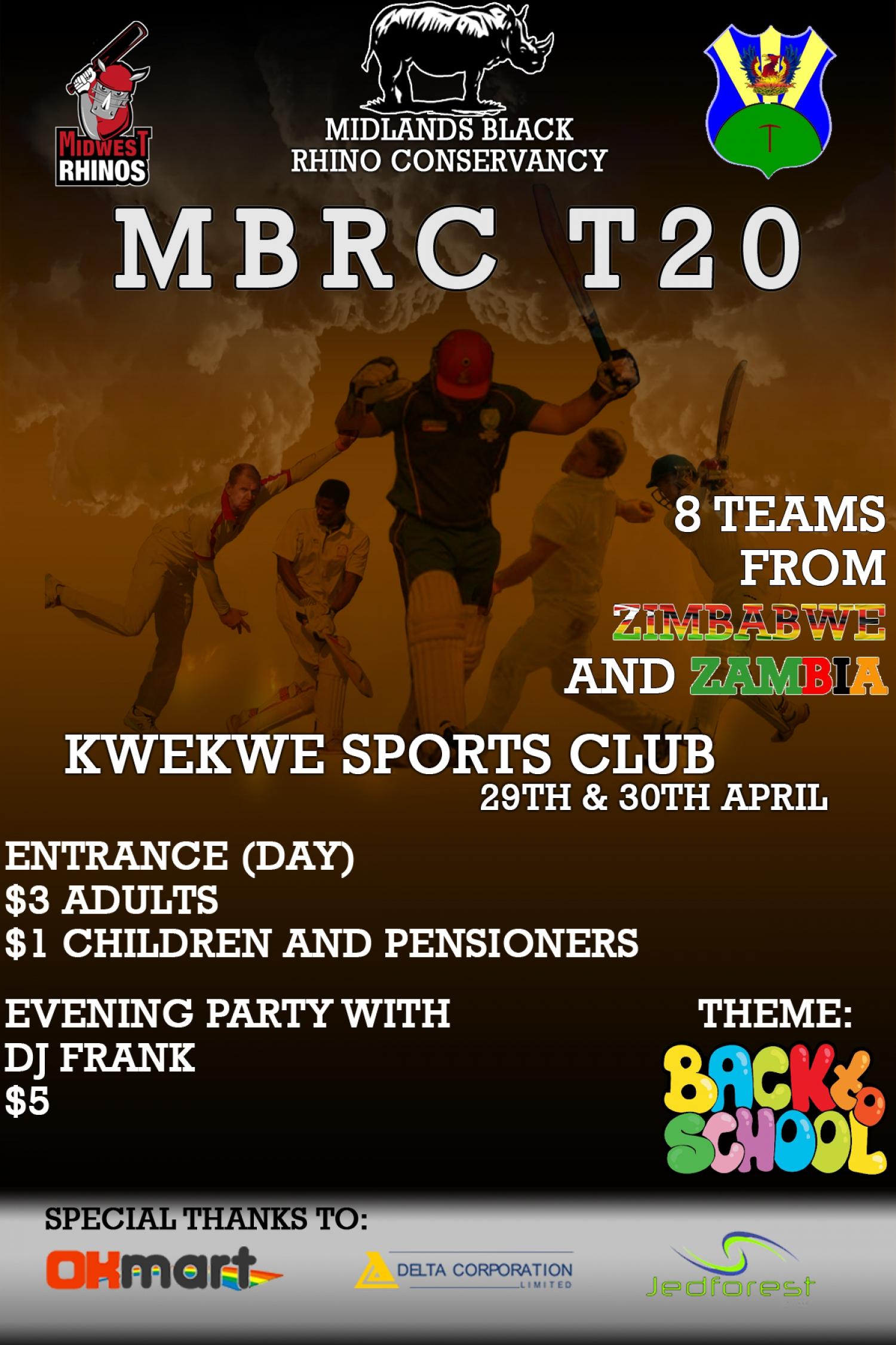 Kwe Kwe T20 Cricket Tournament