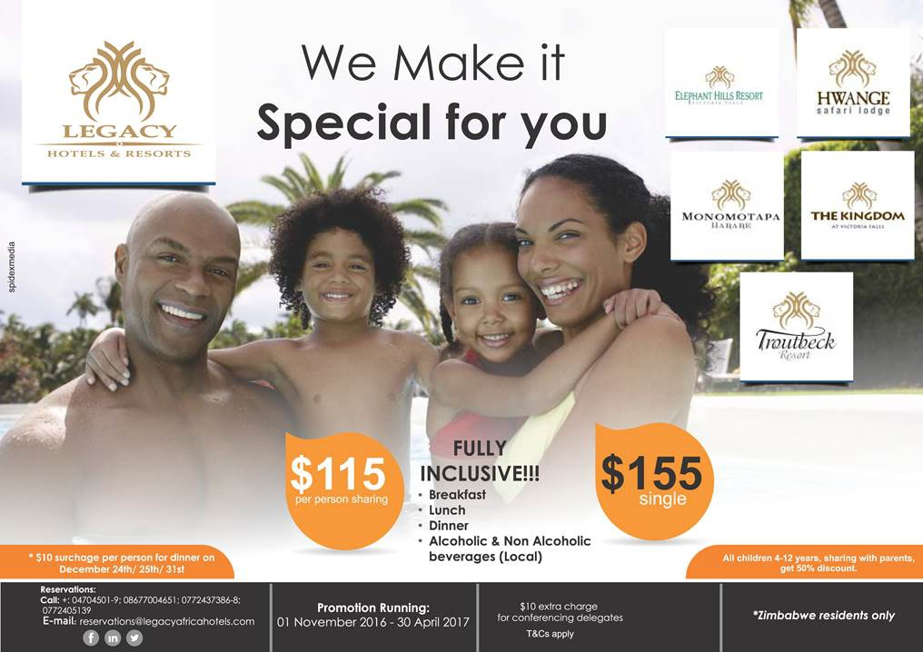 Legacy Hotels & Resorts - We Make It Special For You
