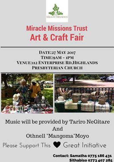 Miracle Missions Trust Art And Craft Fair