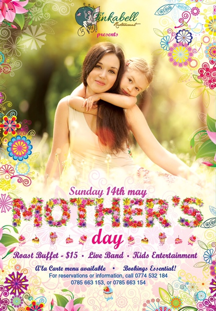 Mother's Day At Tinkabell Restaurant