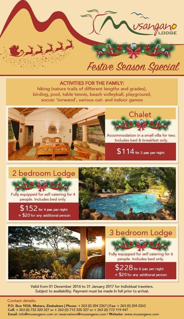 Musangano Lodge Festive Season Special