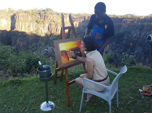 Painting on the Edge August 2017