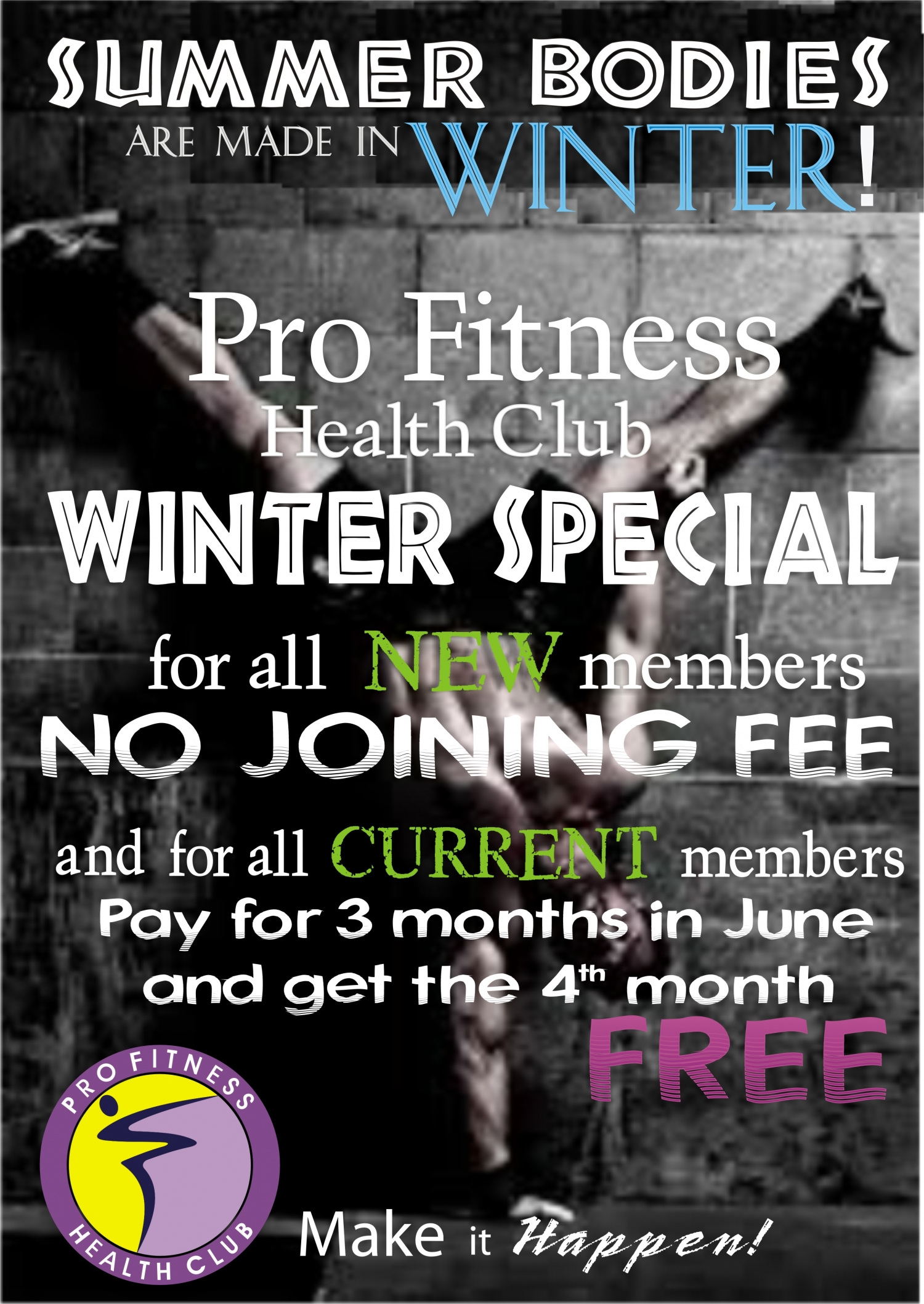Pro Fitness Health Club Winter Special