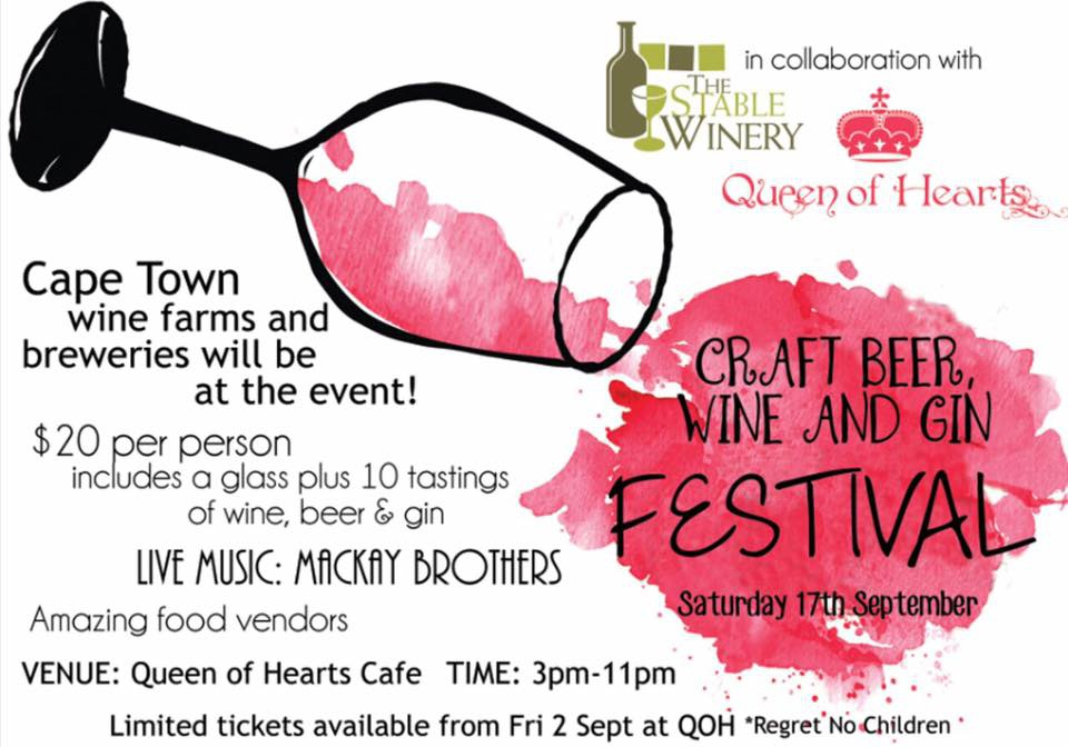 QOH & Stables Craft Beer, Wine & Gin Festival