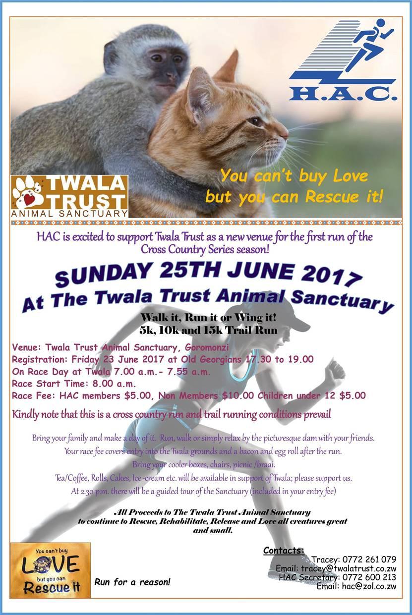 Running Cross Country -Twala