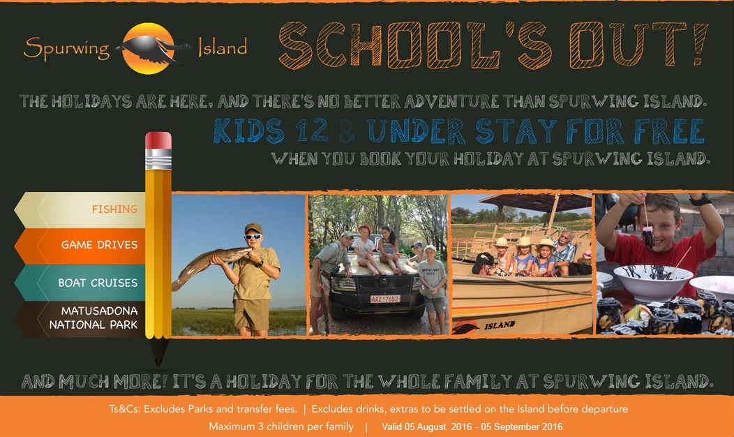 Spurwing Island- School Holiday Special