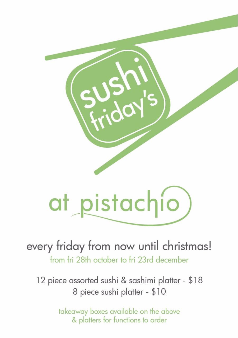Sushi Fridays