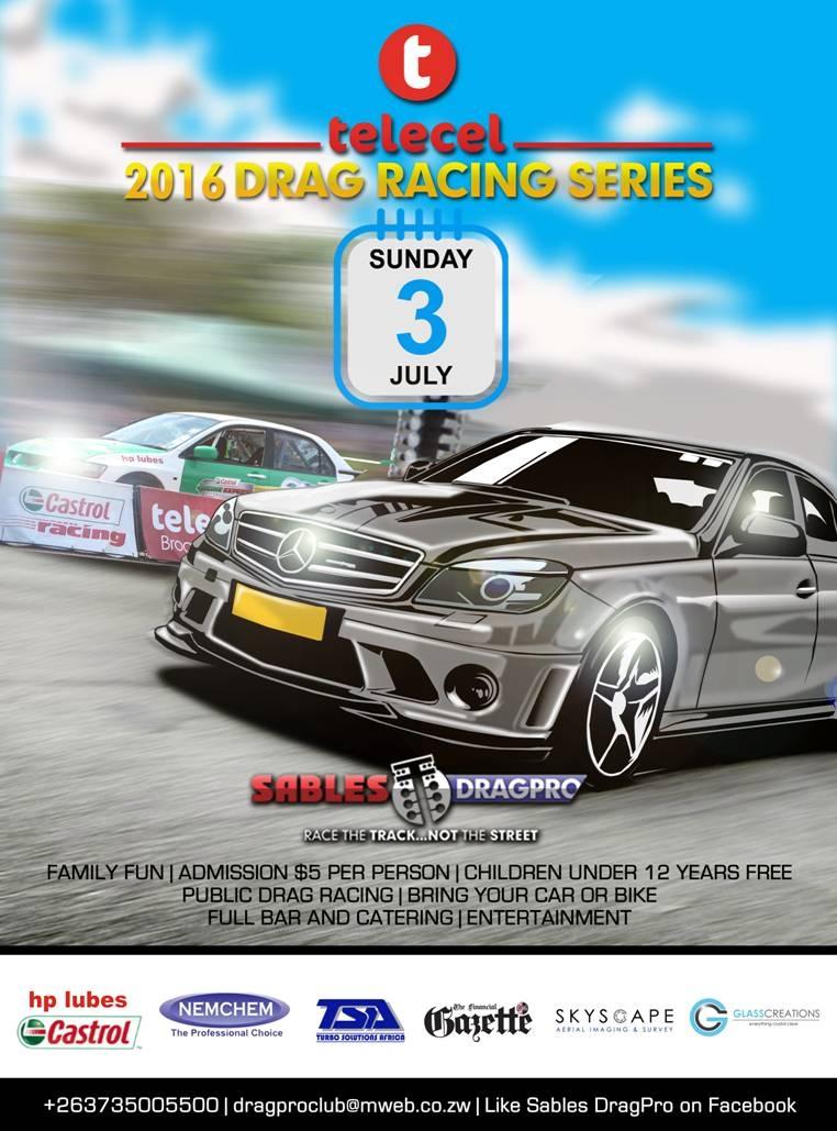 Telecel July 2016 Drag Racing Series