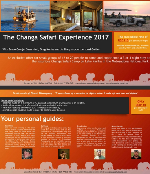 The Changa Safari Experience