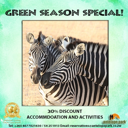 Think Green With Antelope Park's Amazing Green Season Deal