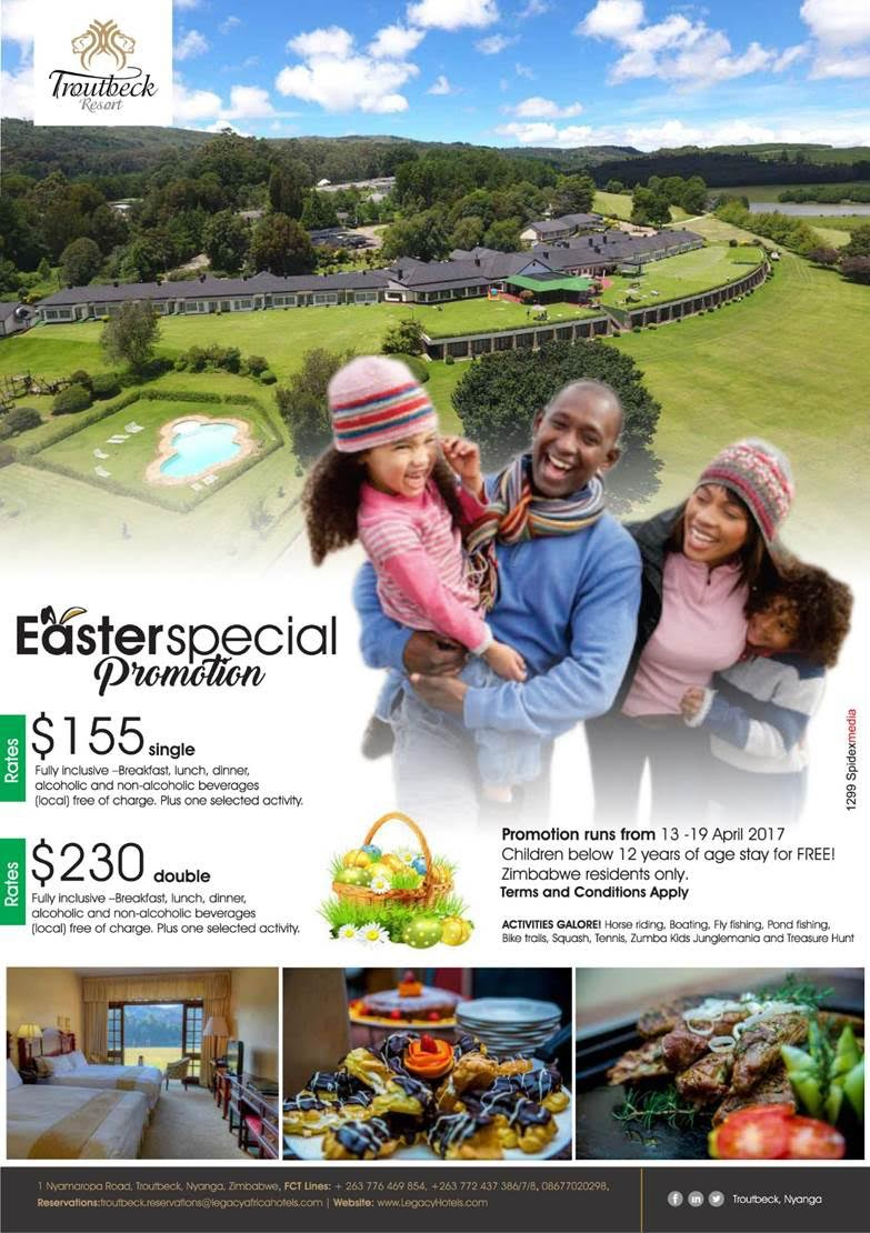 Troutbeck Easter Special Promotion