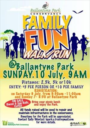 Ballantyne Park Fun Run