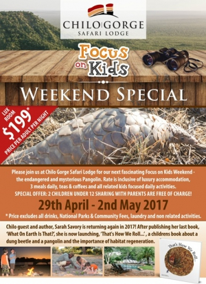 Chilo Gorge - April Focus on Kids Weekend