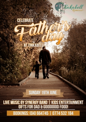 Fathers Day At Tinkabell Restaurant