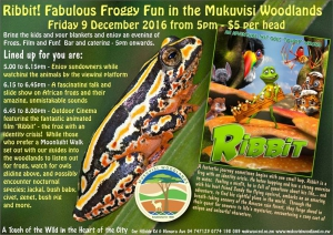 Frogs, Film and Fun at Mukuvisi Woodlands