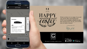 GTAXI Easter Promotion