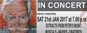 Peter Creswell in Concert (Pianist)