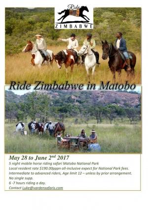 Ride Zimbabwe Matobo Start Up Special