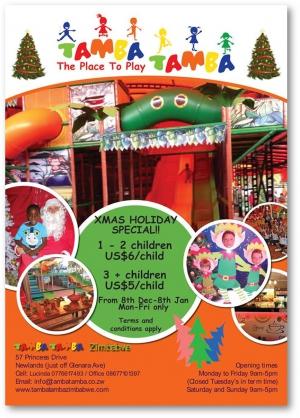 Tamba Tamba Christmas Holidays - Special Rates