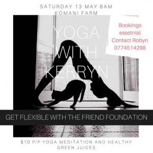 Yoga Retreat In Aid Of The Friend Animal Foundation
