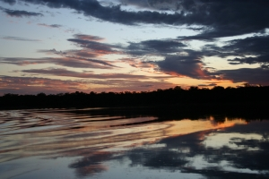 Sunset, Ume River, Kariba